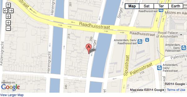 Map Office Location Amsterdam