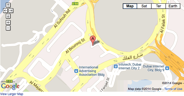 Map Office Location Dubai