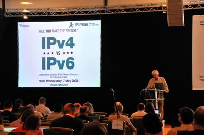 IPv6 Hour during RIPE 56 held in Berlin