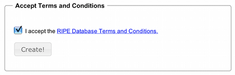 ENUM Request Form, Screenshot 3