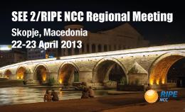 SEE 2 Skopje web banner