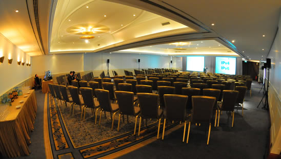 Plenary Room at the Berlin RIPE Meeting