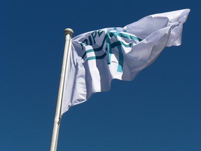 RIPE Flag Flying in Tallinn