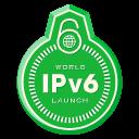 World IPv6 Launch Badge
