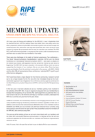RIPE NCC Member Update, January 2013